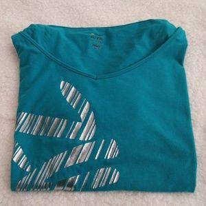 Turquoise Zumba Shirt